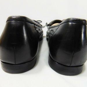 Santoni Shoes - SANTONI Tassel Loafers 12 B Narrow US Black Italy